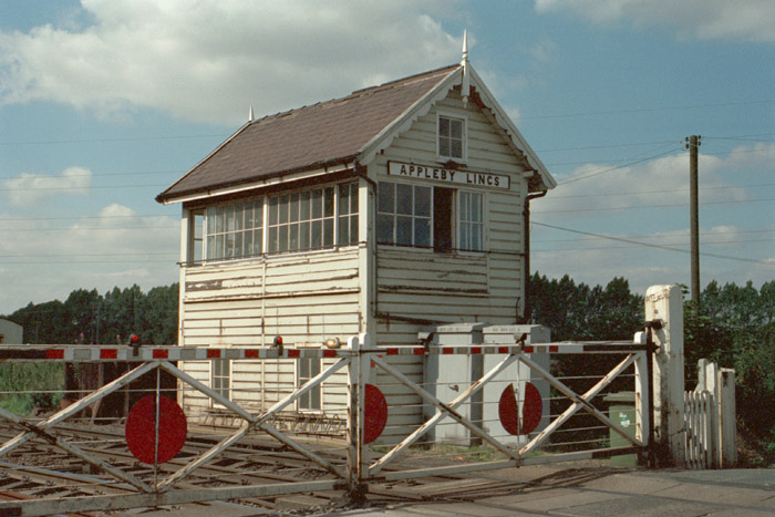 Appleby Signal Box and crossing