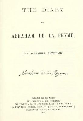 Abraham de la Pryme