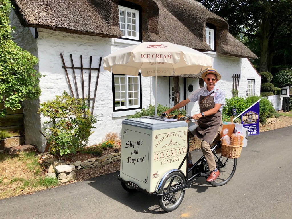 Appleby Ice Cream trike
