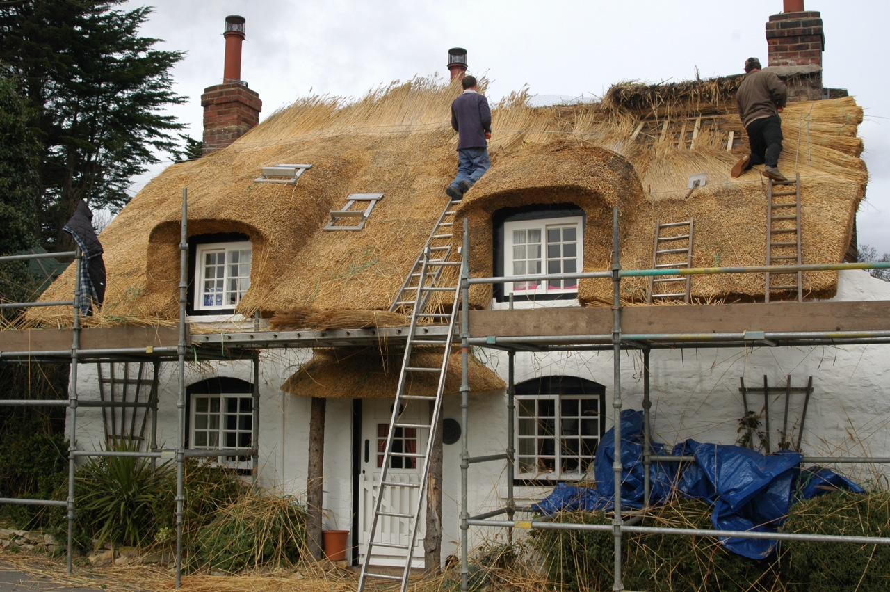 Image gallery thatched cottage - The thatched cottage ...
