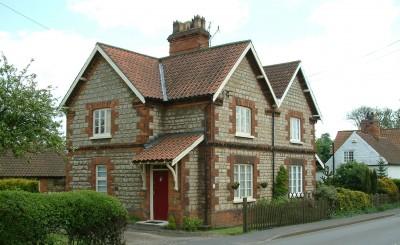 Ermine St houses east