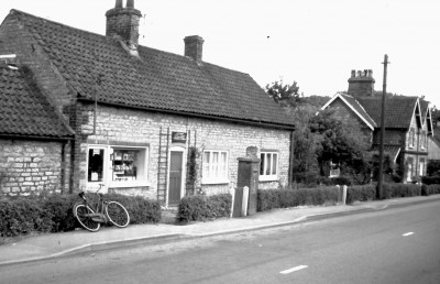 Ermine Street Then - 1980's b&w