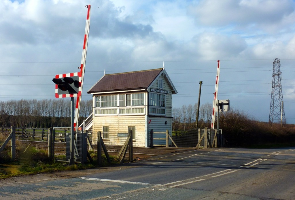Level crossing and signal box1