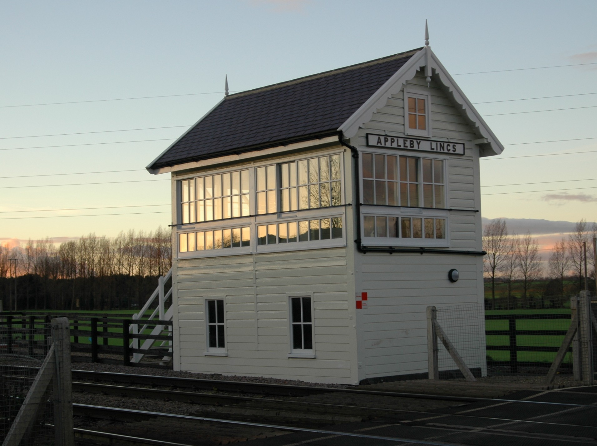 Appleby Signal Box And Station