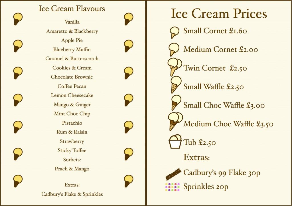Price AND menu