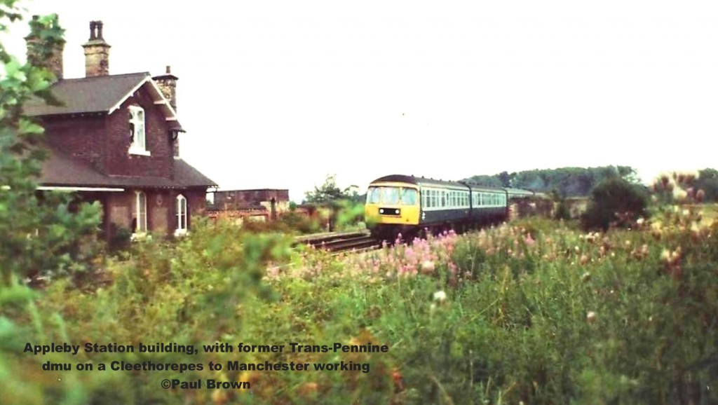 Appleby station looking east 1 1980-08-18 train (2)